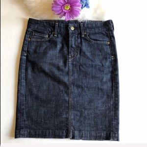 Citizens of Humanity denim pencil skirt size 25